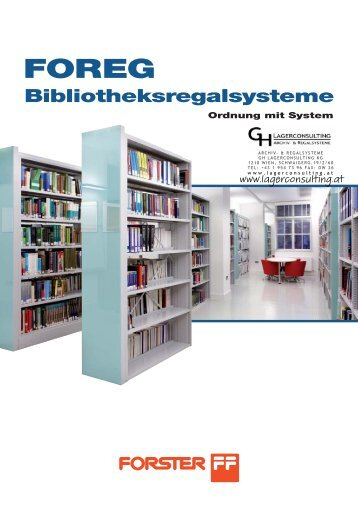 Lagerconsulting - Bibliotheksregale (Foreg)