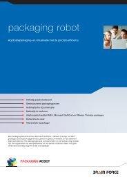 Algemene product informatie - Packaging Robot, software solution ...