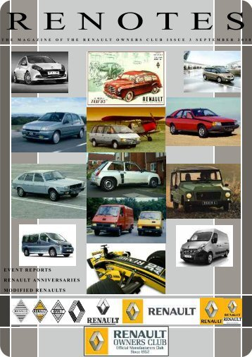 September 2010 44 Pages Draft.pdf - Renault Owners Club Forum