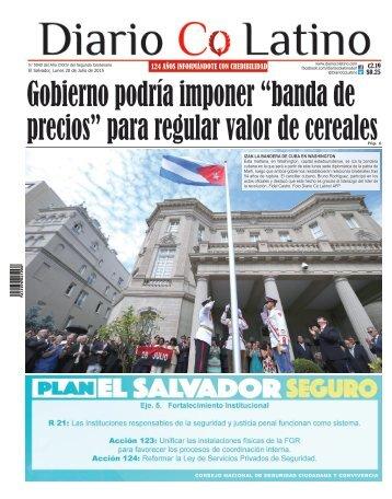 Edición 20 de Julio de 2015