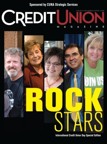 Sponsored by CUNA Strategic Services - Credit Union Magazine