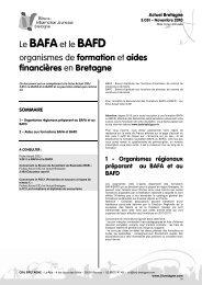 Le BAFAet le BAFD organismes de formation et aides ... - Ubapar