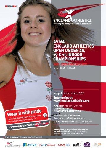 download info and registration form - England Athletics