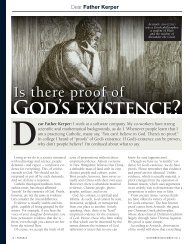 God's existence?
