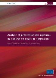 Analyse et prévention des ruptures de contrat - Sysfal