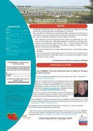 Meuse Tourisme - Tourisme en Meuse
