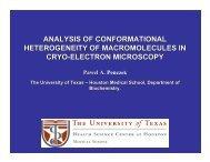 Analysis of Conformational Heterogeneity of Macromolecules ... - Situs