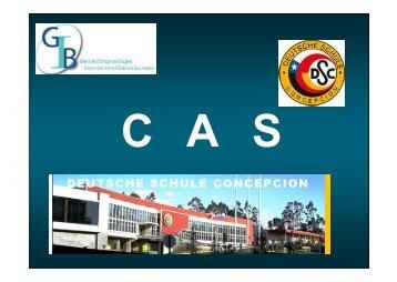 Descripción de la asignatura CAS - Colegio Alemán de Concepción