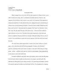 15-‐A Lauren Burton 12/07/09 Article Analysis (Final ... - Alma College