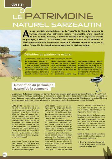 LE PATRIMOINE - Sarzeau