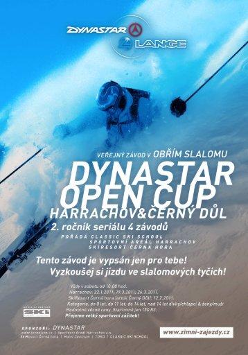 Veřejný závod v obřím slalomu - Harrachov