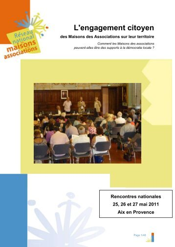 Rencontres d'Aix en Provence - Juin 2011 - L'engagement citoyen ...