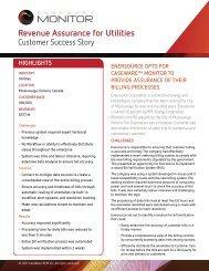 Revenue Assurance for Utilities - Caseware International Inc.