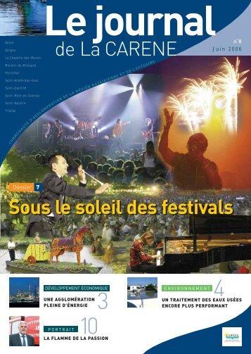 de La CARENE Sous le soleil des festivals - La Carène