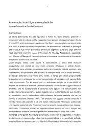 Arteterapia: le arti figurative e plastiche - L. Colonnello, C. Passavanti