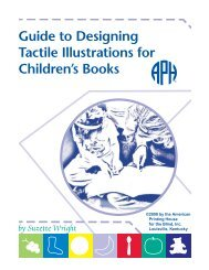 Guide to Designing Tactile Illustrations for Children's Books