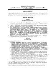 Všeobecné pojistné podmínky pro pojištění pracovní neschopnosti a ...