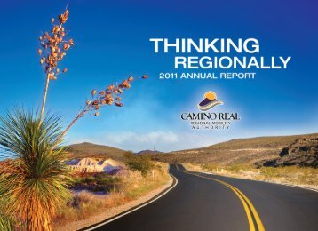 2011 Annual Report - Camino Real Regional Mobility Authority