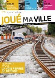 LA VOIE FERRÉE SE DESSINE - Mairie de Joué lès Tours