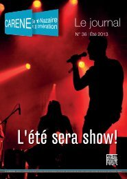 N° 36 l Été 2013 - La Carène