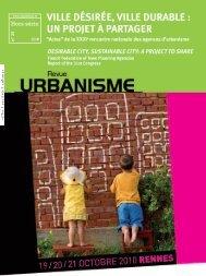 hors-série n°39 de la revue Urbanisme - Audeso