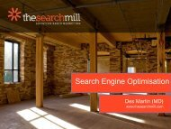 Search Engine Optimisation - Dublin Chamber of Commerce