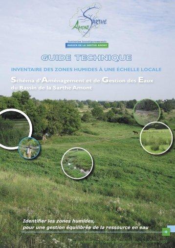 Inventaire des zones humides - SAGE du bassin versant de la ...