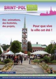 Pour que vive la ville cet été ! - Saint-Pol-sur-Ternoise