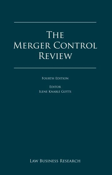 The Merger Control Review