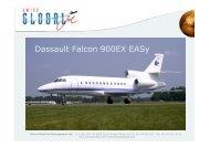 Falcon 900 - Black Rock Global Services