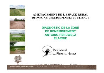 AMENAGEMENT DE L'ESPACE RURAL DIAGNOSTIC DE LA ZONE ...