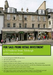 for sale: prime retail investment - Culverwell Property Consultants