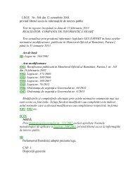 Legea nr. 544 / 2001