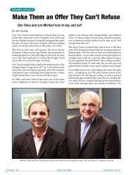Profile: Don and Michael Tolva - Self Storage Association Globe