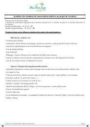 CR réunions territoriales Ardèche verte - Syndicat Mixte Ardèche Verte