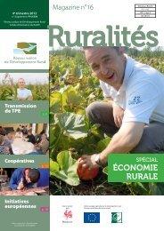 Magazine Ruralités n° 16 - Réseau wallon de développement rural