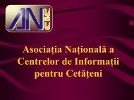 Prezentare ANCIC 2004