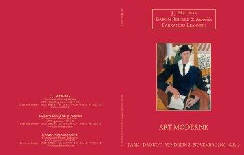 art moderne - CABINET D'EXPERTISE MARC OTTAVI | Expert en ...