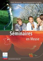 Séminaire - Tourisme en Meuse