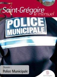 Saint-Grégoire, le Mensuel Avril 2013