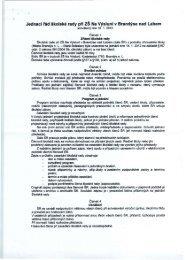 Jednací řád školské rady při ZŠ Na Výsluní v Brandýse nad Labem