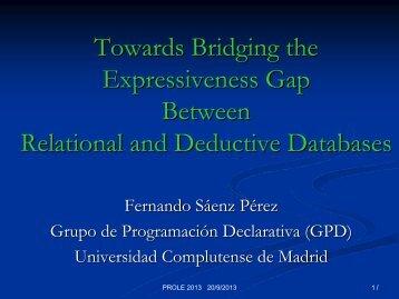 edge(Ori,Des) - Universidad Complutense de Madrid