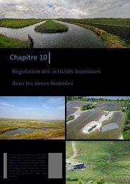 Régulation des activités humaines dans les zones humides