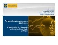 Perspectives économiques 2013-2014