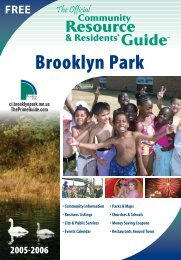 Brooklyn Park interactive guide - The Prime Guide