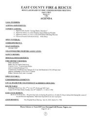 7-2-2013 Board Packet - East County Fire & Rescue
