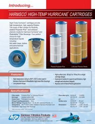HARMSCO HIGH-TEMP HURRICANE CARTRIDGES