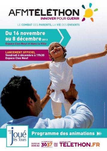 Du 16 novembre au 8 décembre2013 - Mairie de Joué lès Tours