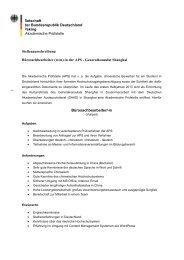 Botschaft der Bundesrepublik Deutschland Peking Akademische ...