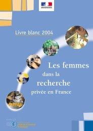 Livre Blanc 2004 - Ministère de l'Éducation nationale